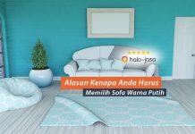 Keunggulan Sofa Warna Putih