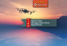 Rekam Video Menggunakan Drone