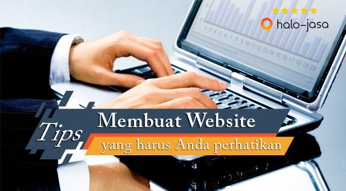 Tips Membuat Website