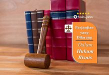 perjanjian yang dilarang dalam hukum bisnis