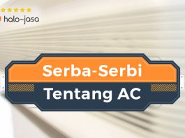 HaloJasa Serba-Serbi Tentang AC