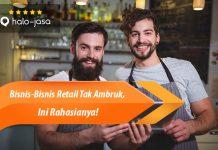 Halojasa Rahasia Bisnis Retail Tak Ambruk