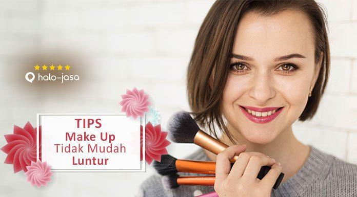 Tips make up tidak mudah luntur