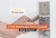 Trik Membuka Pintu Rumah Yang Terkunci
