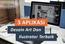 Halojasa Aplikasi desain art dan ilustrator