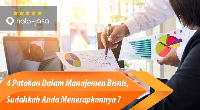 Halojasa Patokan dalam manajemen bisnis