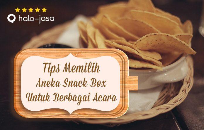 Halojasa Tips Memilih Aneka Kue Snack Box