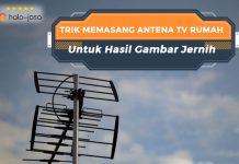 Halojasa Trik memasang antena tv rumah