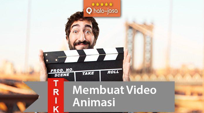 Halojasa Trik membuat video animasi