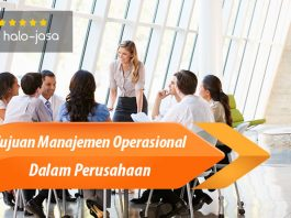 Halojasa Tujuan Manajemen Operasional Dalam Perusahaan