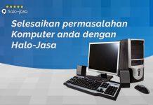 Halojasa service komputer