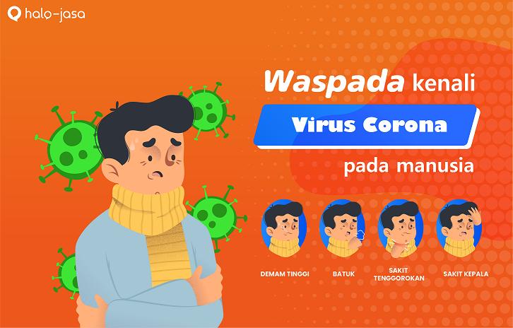 ciri ciri orang terkena virus corona
