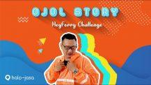 """Ojol Story """" HeyFerry Challenge""""  (Berbagi untuk Sesama episode 6)"""