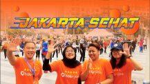 Halo Jakarta Sehat Car free day Halo Jasa