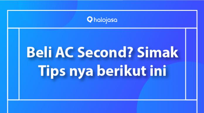 Tips beli AC second