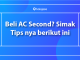 Tips beli AC second